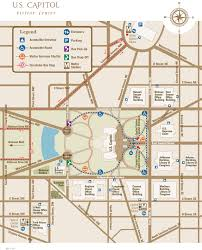 u s capitol map u s capitol visitor center