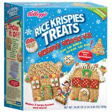 House Kit by Kellogg U0027s Rice Krispies Treats Holiday House Kit Kelloggstore Com