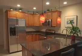 kitchen lighting led ceiling rectangular satin brass scandinavian