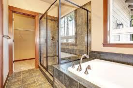 tempered glass shower door shower door gallery frameless and framed great project ideas