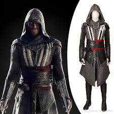 new arrival movie assassins creed costume callum lynch costume