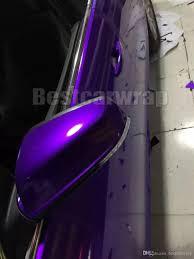 premium candy gloss midnight purple vinyl wrap car wrap with air