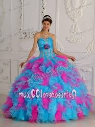 unique quinceanera dresses sweet 15 dresses turquoise and pink naf dresses