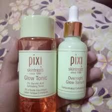 Serum Lbc pixi glow tonic and overnight serum preloved health skin