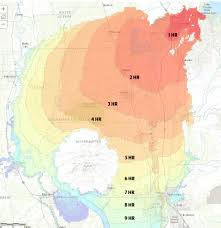 Map Of California Fires Threat Of Oroville Spillway Collapse Lessens As Thousands Evacuate