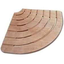 pedana legno pedana doccia 61x61 angolare in legno marino per piatti 80 cm ad