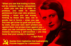 Ayn Rand Meme - even ayn rand knows marxism know your meme