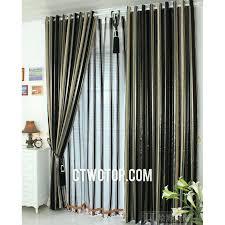 marvellous black and gold striped curtains u2013 burbankinnandsuites com