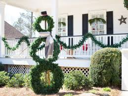 Easy Holiday Decorating 20 Festive Front Porch Decorating Ideas For The Holidays Hgtv U0027s