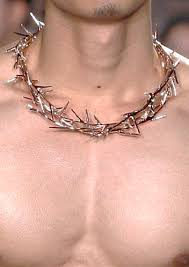 crown of thorns necklace wreath necklace who are we kidding nobody is looking at