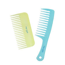 tooth comb plugged in look shower and wide tooth comb set