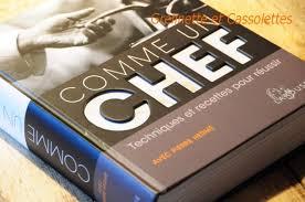 meilleur livre de cuisine comme un chef grelinette et cassolettes