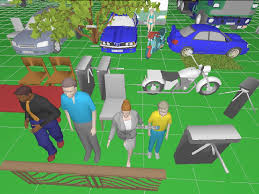 import 3d models and scenes from google sketchup and autodesk 3ds max