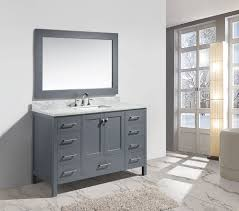 54 single sink bathroom vanity 54