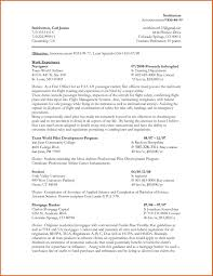 Example Federal Resume by Sample Federal Resume Free Resume Example And Writing Download