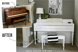 How To Paint A Table How To Paint A Piano Jones Design Company