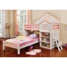 Doll House Bunk Bed Doll House Loft Bed Wayfair