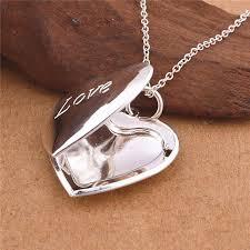 pendant picture necklace images Silver photo locket pendant jpg