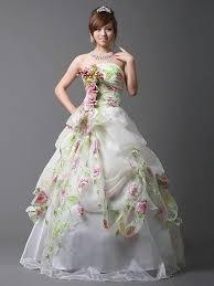 faerie wedding dresses style wedding dress with flower applique styles of wedding