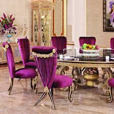 Dining Room Table For 10 Luxury Wood Carving Round Dining Table For 10 People With Purple