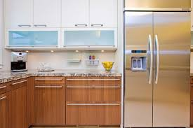 kitchen cabinets with frosted glass modern kitchen wth contrasting cabinetry and frosted glass modern