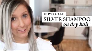 Best Shampoo To Use On Hair Extensions by How To Use Silver Shampoo Best Result Dry Hair Purple