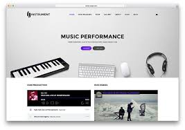 18 best responsive html5 music website templates 2017 colorlib