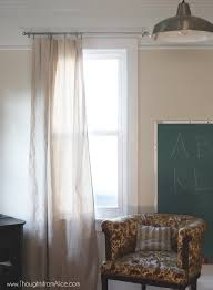 Easy No Sew Curtains 5 Minute No Sew Drop Cloth Curtains