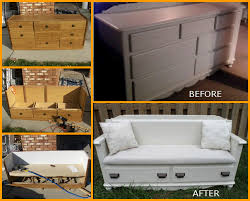 Repurposing Old Furniture by Instead Of Discarding Your Old Dresser Why Not Give It A New Life