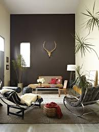 eclectic living room with chocolate accent wall brown eclectic living room with chocolate accent wall brown