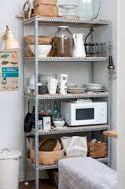 kitchen alluring metal kitchen shelves impressive racks for