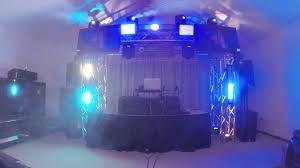 best dj lights 2017 mobile dj light setup 2014 youtube