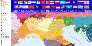 Milano Italy Map by Linguistic Map Of Italy Italic Roots