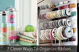 spools of ribbon 7 clever ways to organize ribbon jpg