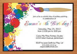 writing invitation for birthday party the free party