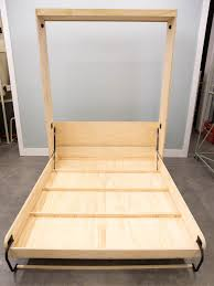 How To Build A Platform Bed With Storage Underneath by How To Build A Murphy Bed How Tos Diy