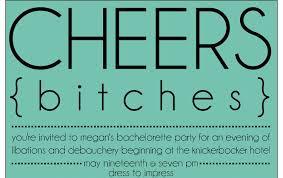 100 bachelorette party invitation wording alice in