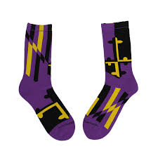 Baltimore Flag Baltimore Purple U0026 Gold Maryland Flag Crew Socks U2013 Route One Apparel