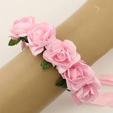 flower band new paper brides bridesmaids wedding bouquet flowers all