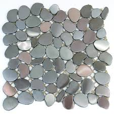 unique shapes stainless steel metal unique shapes tile brushed 4a1211