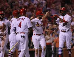 fowler u0027s grand slam leads another cardinals rally completes sweep