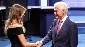Bill Clinton Hometown by Presidential Debate At Hofstra Photos From The Scene Am New York