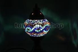 Mosaic Table Lamp with Turkish Lamps Mosaic Lamp Turkish Tile Turkish Plate Turkish Ceramic