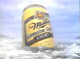 miller genuine draft light giant can mgd miller genuine draft light commercial 1991 youtube