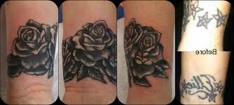 black and grey wrist tattoos wrist cover up black and grey roses