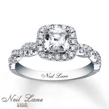neil engagement neil engagement ring 1 3 8 ct tw diamonds 14k white gold