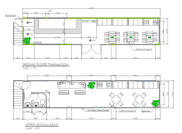 Cafe Floor Plan by Cafe Shipping Containers Is 1500 Laura Saliman Pulse Linkedin