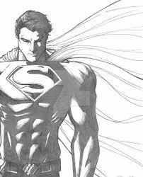 drawn fist superman pencil color drawn fist superman