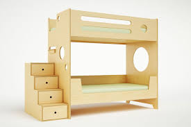 Plywood Bunk Bed Furniture Contemporary Bunk Beds Contemporary Bunk Beds For