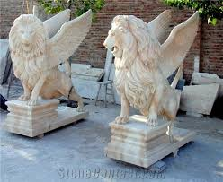 marble lions for sale large yellow marble lions sculpture garden marble lion statue